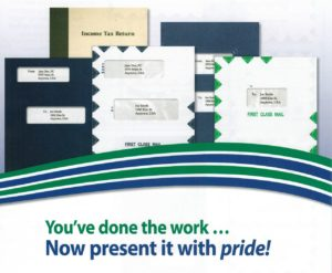 Image of presentation folders