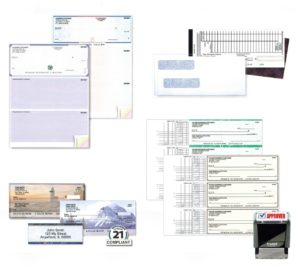 Assortment of Business Checks